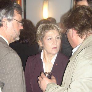 Dagmar Mühlenfeld im Gespräch