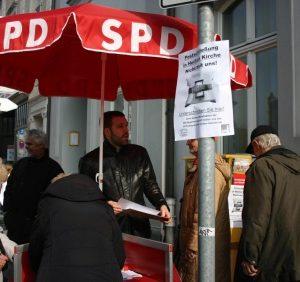 SPD Heißen sammelt Unterschriften gegen die Postschließung